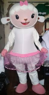 Doc Mcstuffins Costume Amazon Com Handmade Doc Mcstuffins Lambie Mascot Costume