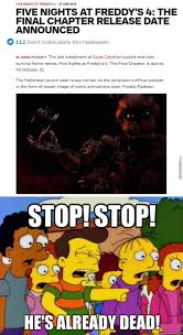 memes de halloween seriously scott cawthon needs to stop by mrhankey meme center