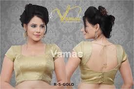 golden blouse blouse designs for kathpadar saree search blouse