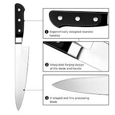 Restaurant Kitchen Knives Chef S Knives Bodyguard 8 Inch Chef S Knife High Carbon