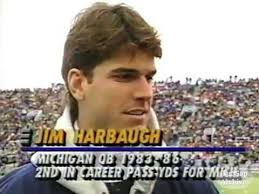 Jim Harbaugh Memes - 1992 northwestern michigan jim harbaugh interview youtube