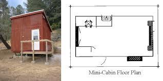 nido micro cabin floor plan