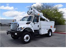 international bucket trucks boom trucks in california for sale