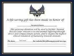 give the gift of compassion animal rescue corps