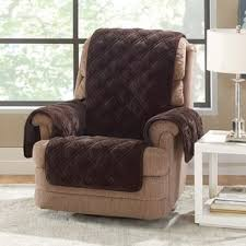 euro recliner slip covers wayfair