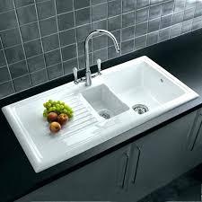 kohler cast iron kitchen sink kohler bakersfield single basin undermount enameled cast iron