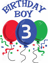 birthday boy the birthday boy is 3 years today a design from