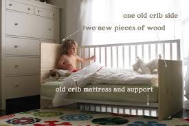 When Do You Convert Crib To Toddler Bed by The Brooding Hen Crib Conversion