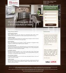 kitchen u0026 bath landing page landing page designs pinterest bath