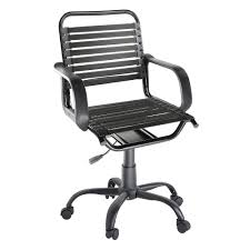 Desk Chair White by By Design Bungee Desk Chair