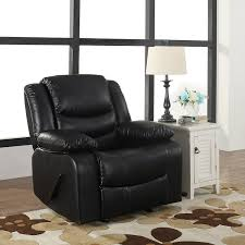 Best Recliner Chair In The World Amazon Com Bonded Leather Rocker Recliner Living Room Chair