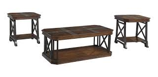 Ashley Furniture Living Room Tables by Buy Ashley Furniture Vinasville 3 Piece Table Set