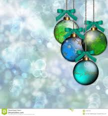 blue green ornament christmas background royalty free stock