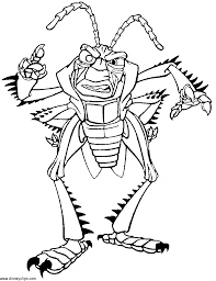 hopper gif 900 1167 coloring pages a bug u0027s life pinterest