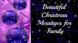 beautiful messages for family 2016