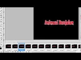 cara membuat gambar bergerak gif dengan photoshop cara membuat animasi gif teks berjalan bergerak dengan photoshop cs3