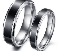 vintage titanium rings images Matching titanium wedding bands wedding idea jpg