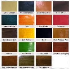 colour options in wood stains color wood stain and