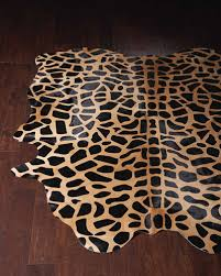 animal print imported rug horchow com