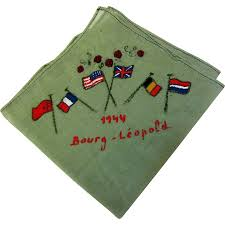 Ww2 Allied Flags Ww2 Bourg Leopold Hankie With Allied Flags From Faywrayantiques On