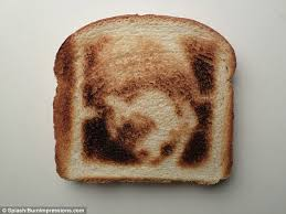 Toast In A Toaster Forget Jam And Marmalade Now You Can Enjoy Your Face On Toast