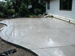 Backyard Cement Ideas Best Of Cement Patio Cost For Amazing Backyard Cement Patio Ideas