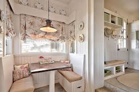 breakfast room dining room little niche in the shabby chic kitchen converted into