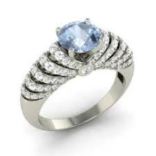 aquamarine wedding rings aquamarine rings for women march birthstone rings diamondere