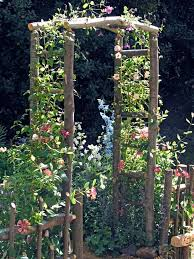 Wedding Arches Made Twigs How To Build A Wooden Arch Kit Wood Arbor Arbors And Google Search