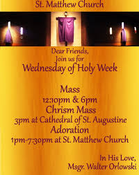 is thanksgiving a holy day of obligation parish news st matthew church part 3