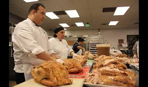 pasadena now 250 gourmet turkeys prepped cooked by local chef