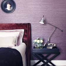 Bedroom Purple Wallpaper - purple bedroom ideas ideal home