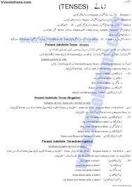 english tenses in urdu book easy download 0 tenses pinterest