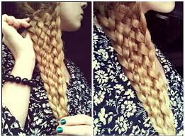 easy eleven strand braid with no bobby pins omg i want to do