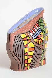 madeheart u003e unusual handmade ceramic vase homemade clay vase