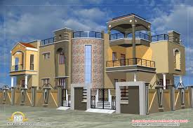 Indian House Designs And Floor Plans by Luxury Indian Home Design With House Plan 4200 Sqft Home Indian