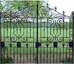 ornamental entrance gates steel gates and industrial gates