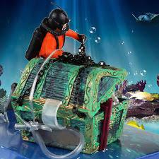 fish tank diver ebay