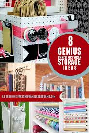 gift wrap storage ideas 8 genius christmas wrap storage ideas spaceships and laser beams