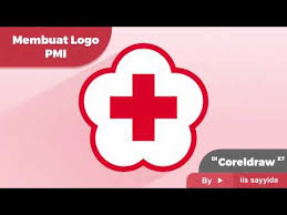 tutorial membuat logo coreldraw x5 tutorial membuat logo pmi di coreldraw x7 vector design logo