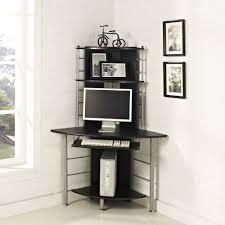 black corner computer desk black computer desk corner deboto home design the bush computer
