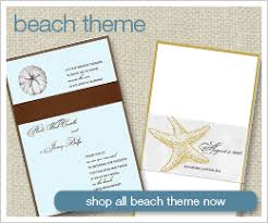 Beach Theme Wedding Invitations Themed Wedding Invitations Shop Wedding Invitations By Theme