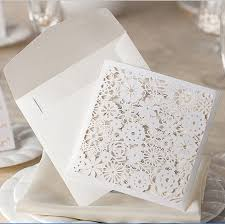 wholesale wedding invitations wholesale 2016 stock cheap white floral paper cut wedding