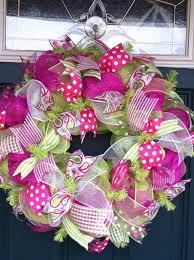 mesh wreaths mesh wreaths summer deco mesh wreath crafting