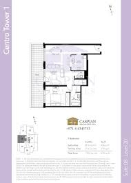 Podium Floor Plan by Boulevard Central Tower 1 Floor Plans