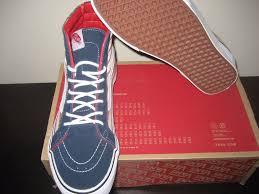 Maryland Flag Vans Vans Sk8 Hi Reissue Americana American Flag Dress Blues Shoes Usa