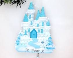 castle ornaments etsy