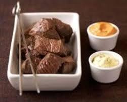 cuisiner viande à fondue recette fondue bourguignonne