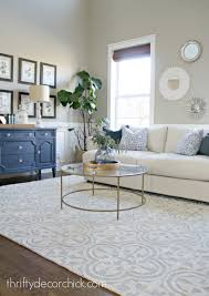 when in doubt add some circles from thrifty decor