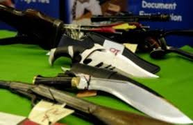bring me your weapons dublin councillor announces knife amnesty